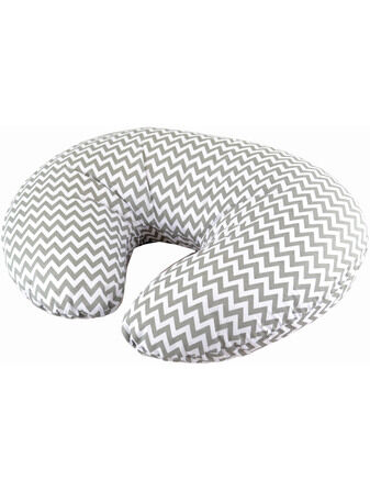 Cuddles Collection Nursing & Support Pillow Aztec Grey