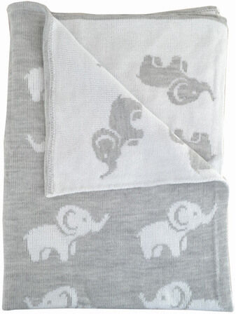 Cuddles Collection Baby Wrap Ellie Grey