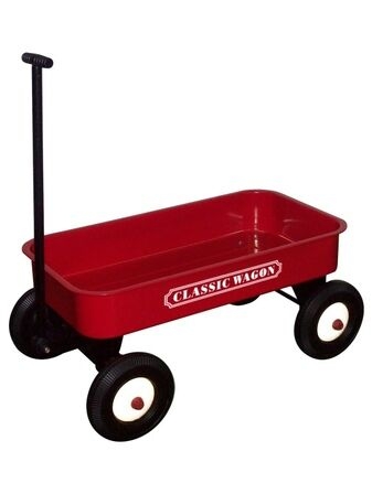 Red Pull Cart