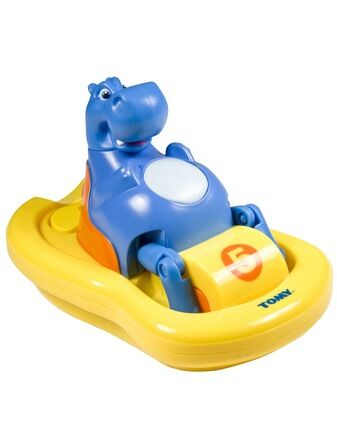 Hippo Pedalo Bath Toy