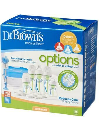 Dr Brown's Newborn Gift Set