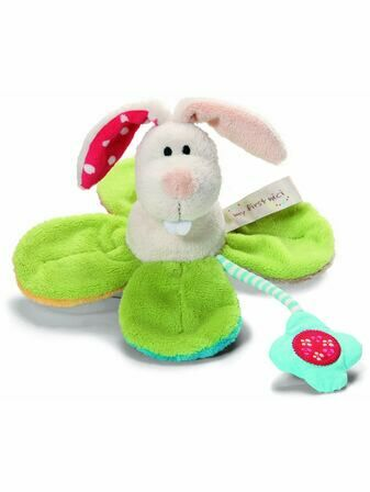 Soft Rabbit Grabber Rattle Baby toy