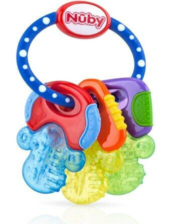 Nuby Icy Bite Teether Keys