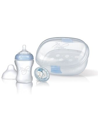 Natural Touch 2 in 1 Steriliser Plus Bottle and Soother