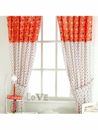 Cotton Tail Nursery Curtains