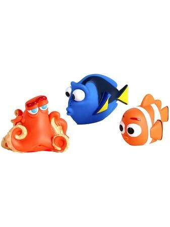 Finding Dory Squirt Swim Toy Dory,Nemo and Hank