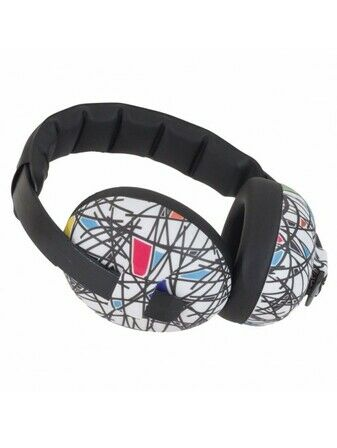 Baby Banz ear defenders - Squiggle