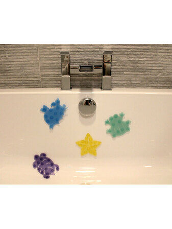 Little Wonders Children's Small Safari Bath Splats - Pack of 4