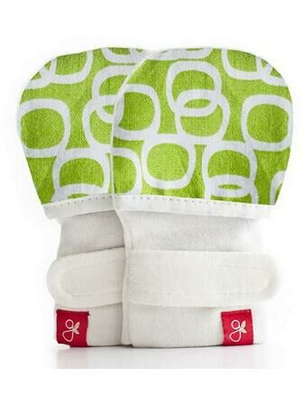 Goumi Kids Mitts - Bubbles Lime