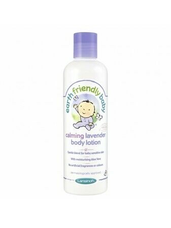 Earth Friendly Baby Body Lotion 250ml - Calming Lavender