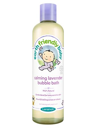 Earth Friendly Baby Bubble Bath 300ml - Calming Lavender