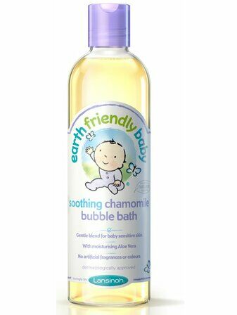 Earth Friendly Baby Bubble Bath 300ml - Soothing Chamomile