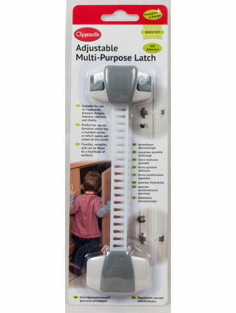 Clippasafe Adjustable Multi Purpose Latch