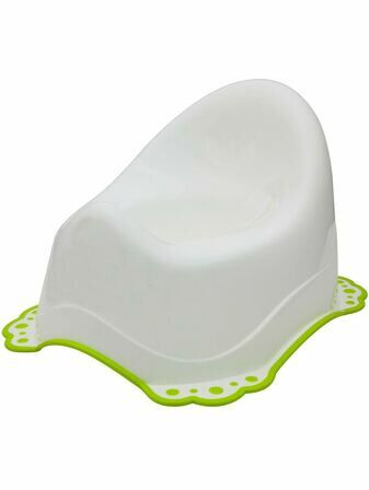 Little Wonders Non Slip Potty White