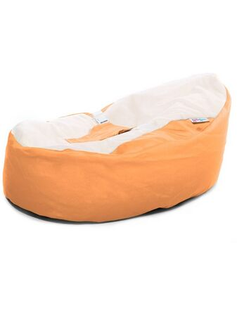 GaGa Pre-filled Baby Bean Bag - Tangerine