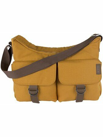Koo-Di Hobo Shoulder Bag - Mustard