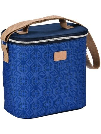 Geo Oval Lunch Cooler