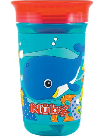 360 Maxi 3D Drinking Cup Blue Whale