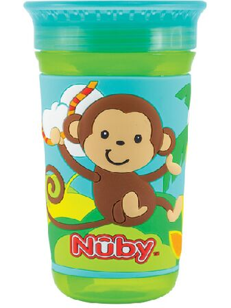 360 Maxi 3D Drinking Cup Green Monkey