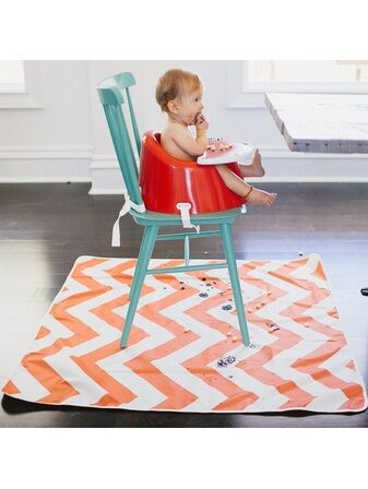 Multi-use Floor Mat Chevron – Coral