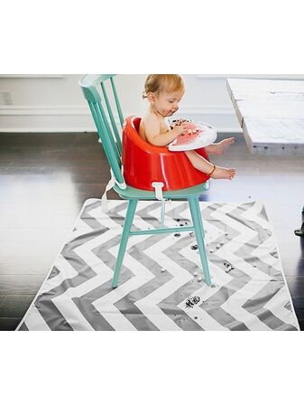 Multi-use Floor Mat Chevron – Grey
