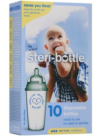 Steri-Bottle Disposable Bottles 10 Pack