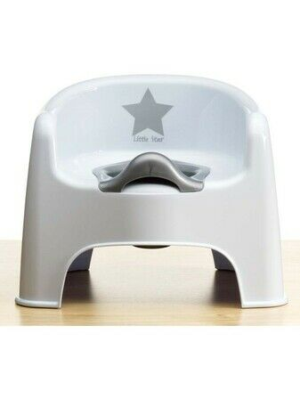 Deluxe Silver Lining Potty Chair