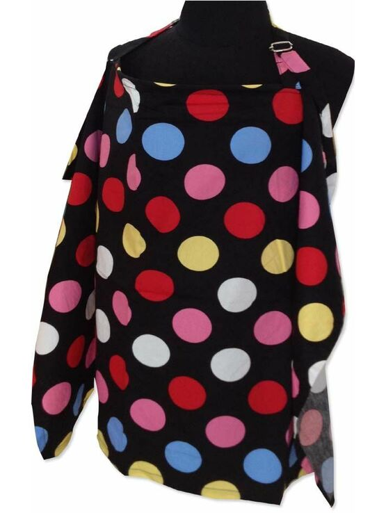 Palm & Pond Breastfeeding Cover - Spotty Dots - 2 Sizes Available