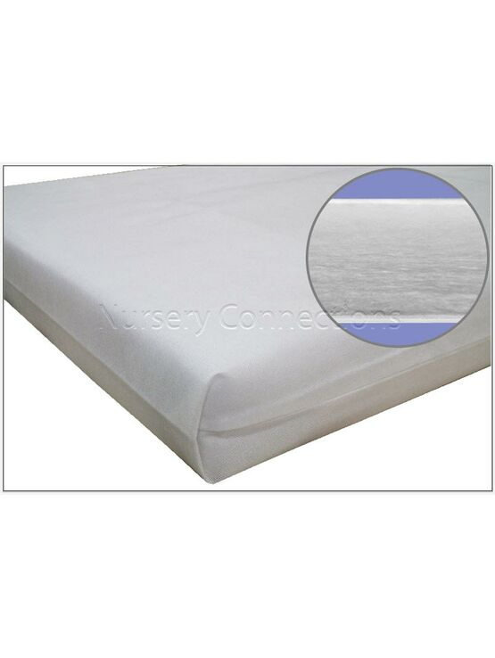 New Kidtech Fibre Cot Cotbed Mattress, Optimum Comfort & Hygiene - Made in UK