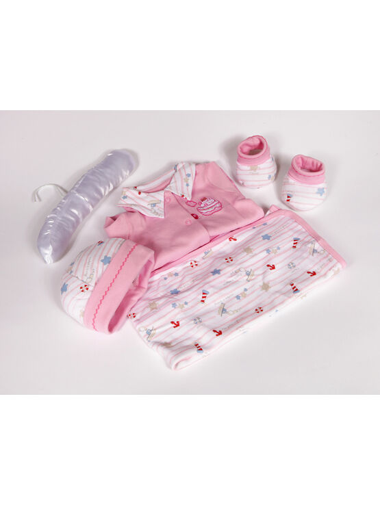 Palm and Pond New born Baby Gift Set Seaside Pink