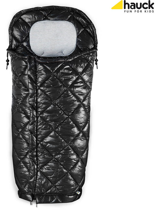 Hauck Warm Me Cosytoe Footmuff - Black