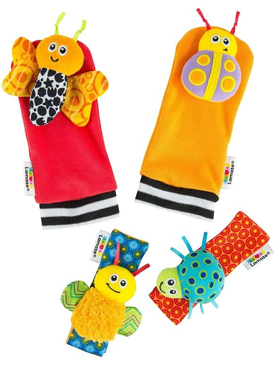 Lamaze Foot Finder and Wrist Rattle