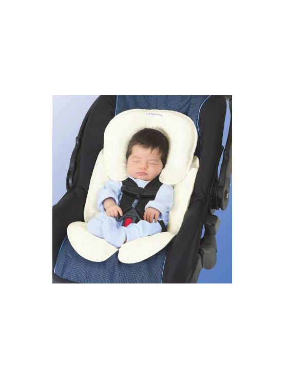 Summer Infant Snuzzler Baby Support for Car Seats - Ivory