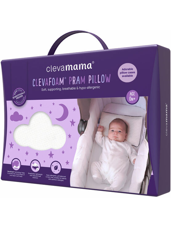 Clevamama Supporting Pram Pillow