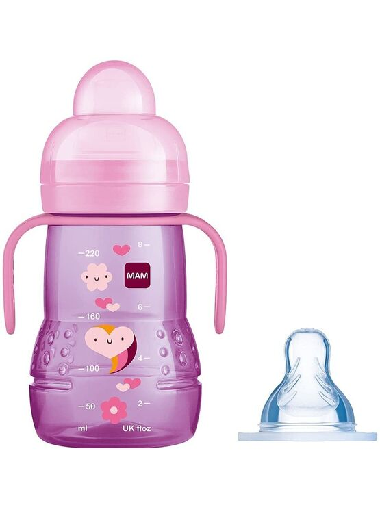 MAM Trainer Bottle 2in1 with extra teat