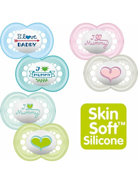 MAM Style Soother 6+ mths 2 Pack - Choose your Style