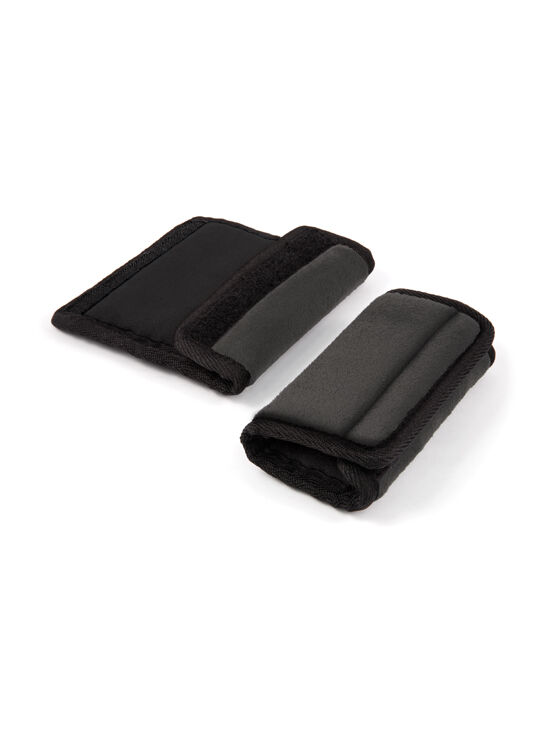 Seat Belt Wraps & Buggy Strap Wrap - Black