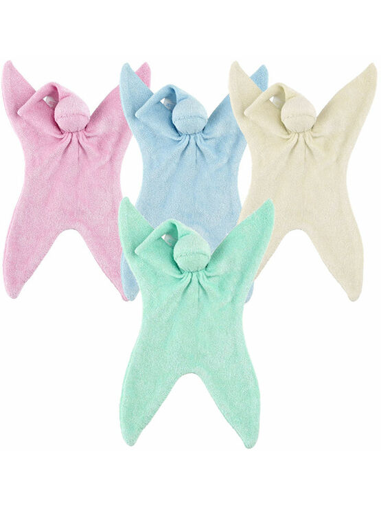 CUSKI Miniboo 2 Pack, Prem Baby Bamboo Comforter, as used within NHS - Choose your colour