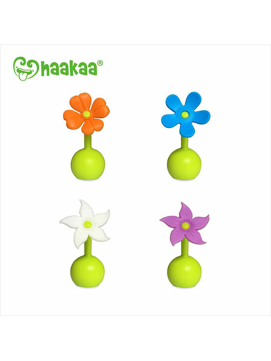 Haakaa Silicone Flower Stopper - Choose your Flower