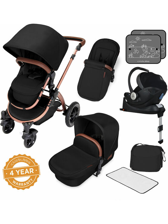 Ickle Bubba Stomp v4 All In One i-Size Travel System With Isofix Base