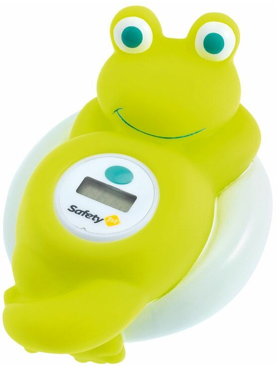 Safety 1st Electronic Bath Thermometer Frog