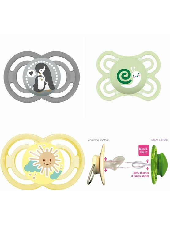 MAM Perfect Soother 6 months - Choose your Style