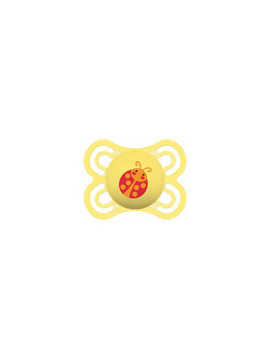 MAM Perfect Soother 0 months - Yellow Ladybird