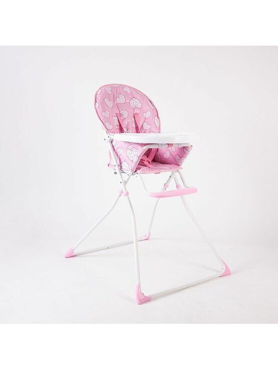 Red Kite Folding Highchair Feed Me Compact Pretty Kitty 6+ mths