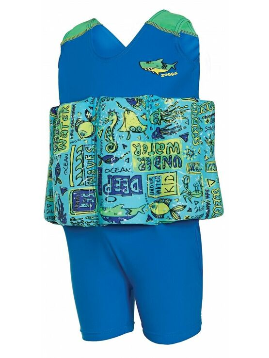 Zoggs Deep Sea Learn to Swim Floatsuit 2-3 years