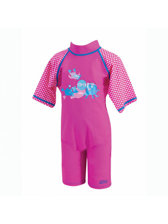 Zoggs Sun Protection Swimsuit Pink