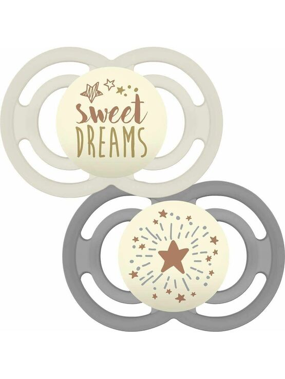 MAM Perfect Night Soother 2 Pack 6+ months - Sweet Dreams