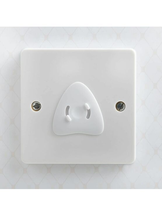 Hauck Socket Covers Protectors/Guards Child Proof – White