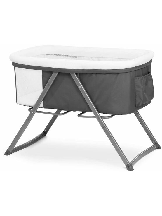 Hauck Dreamer Moses Basket Side by Side Travel Cot/Crib