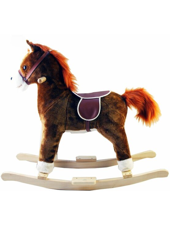 A to Z Rocking Horse - Sound, Moving Mouth & Tail - Choose your new BBF